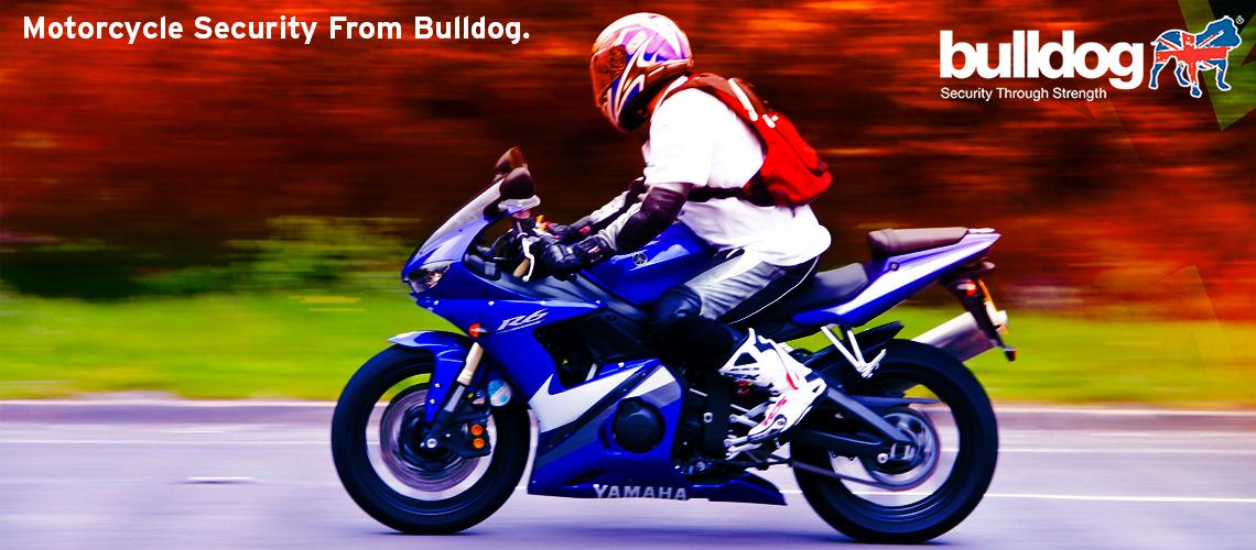 Bulldog motorcycle security