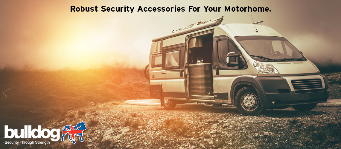Bulldog Motorhome security range