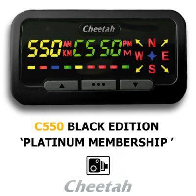 Cheetah c550-Plat-membership