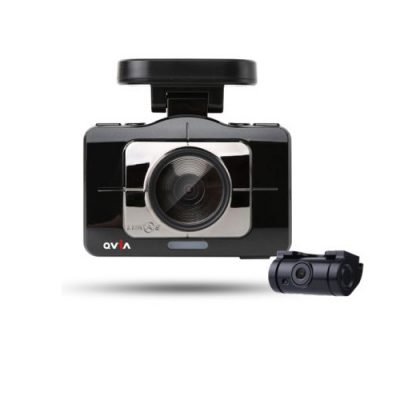 Qvia R975 2CH Dash Camera With 4inc screen